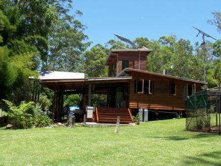 Renee's house exterior